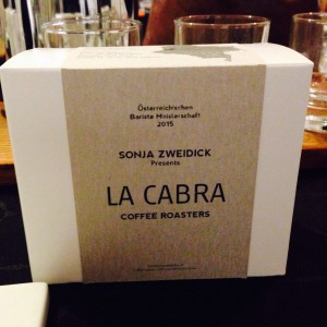 WBC coffee La Cabra